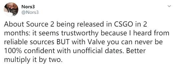 CSGO兩月內迎來起源2引擎?真的有希望!
